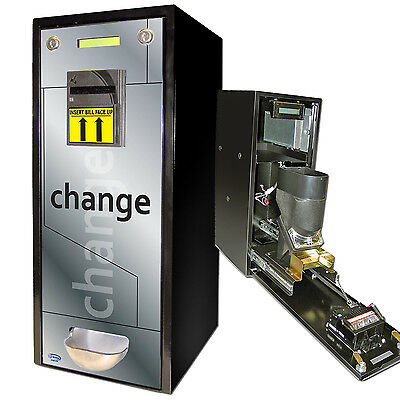 NEW HQ Change Coin Vending Machine Fits 1,000 Coins ($250) or US Quarter Tokens