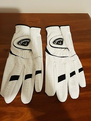 callaway golf gloves. right handed