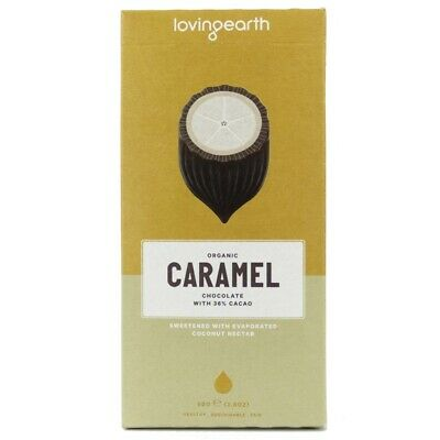 Loving Earth Caramel Organic Chocolate (80g) | BRAND NEW