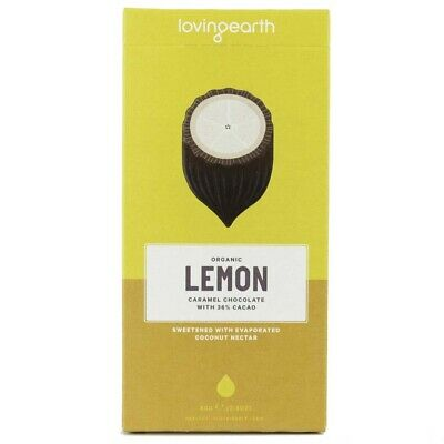 Loving Earth Lemon Cheesecake Caramel Chocolate (80g) | BRAND NEW