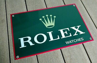 Rolex Watches sign .. large