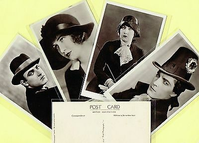 PICTUREGOER - MAIN Series 1920s Silent Film Star Postcards #224 to #266
