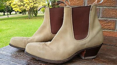 RM Williams Boots - Suede Santa Fe