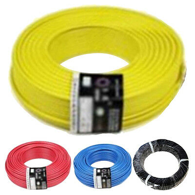 UL-1007 24AWG Hook-up Wire 80 Celsius /300V 10M Cord Hook-up DIY Electrical F8L7