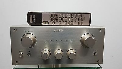 SONY TA-F3000ES Gold High-End Stereo Integrated Amplifier