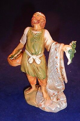 "Fontanini 5"" Hiram The Fisherman Christmas Nativity Figurine #72551 Simonelli"