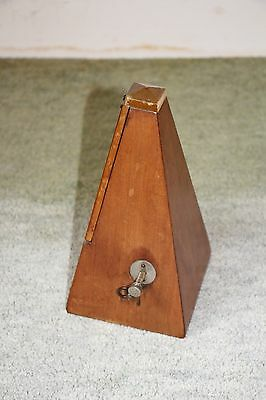 Old Wood Cased Metronome