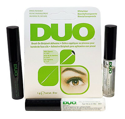 Brand New DUO False Eyelash Lash Glue Adhesive Dark,Clear or White
