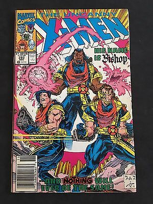 Marvel Comics The Uncanny X-MEN #282 First Appearance of Bishop!
