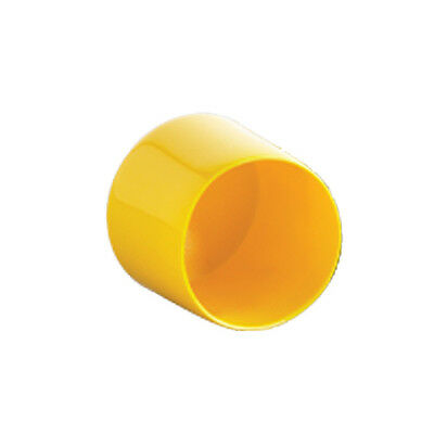 "5/8"" Threaded Rod Cap Yellow Plastic SB-300-D PLN by B-Line Sold in 10 pack"