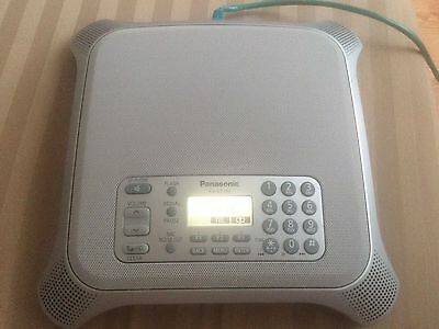 Panasonic KX-NT700 IP VoIP Conference Speaker Phone HD Voice SD Card Recording
