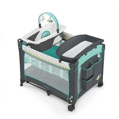 Baby Nursery Sleeper Crib Infant Sleeper Bassinet Playard Changing Table Bed