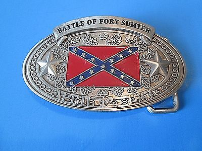 Bradford Exchange Pride of the South Belt Buckle  #A0425