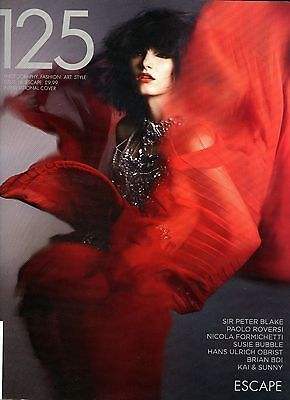 125 Fashion Magazine Issue 18 Escape International Cover  Near Mint 328 pages