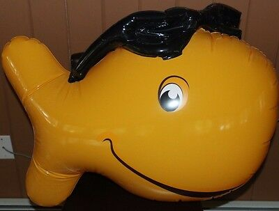 Pepperidge Farm Goldfish With Glasses Store Display Inflatable New Sealed Bag