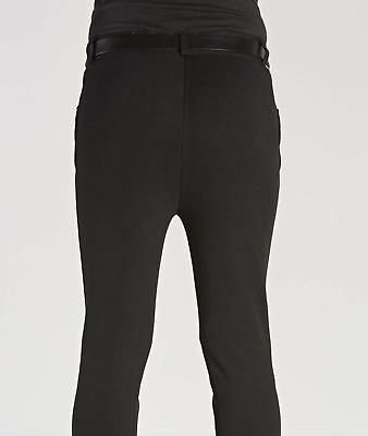 Harry Hall Mens Gents Burford Suede Knee Patch Frogmouth Pockets Riding Breeches