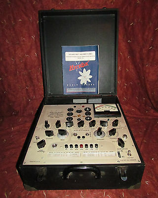 Hickok 533 Vacuum Tube Tester Nice Condition Working
