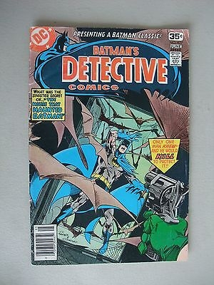 Detective Comics #477 (May-June 1978)  Batman - Signed by Marshall Rogers!