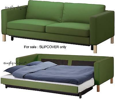 Surprising Ikea Cover For Karlstad Sofabed Sofa Bed Sleeper Slipcover Cjindustries Chair Design For Home Cjindustriesco