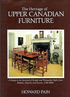 Antique Canadian Furniture Makers Types Dates 1450 Photos / Scarce Book 548 Pgs