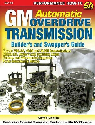 S-A Books GM Automatic Overdrive Transmission Builder and Swappers Guide P/N 140