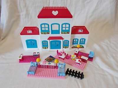 Hello Kitty Mega Bloks House With Accessories