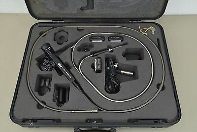 Olympus IF8C5-30 8.4mm Industrial Fiberscope Borescope with Adapters (12863) E12
