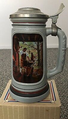"""The Building Of America Stein By Avon. """"The Blacksmith"""""""