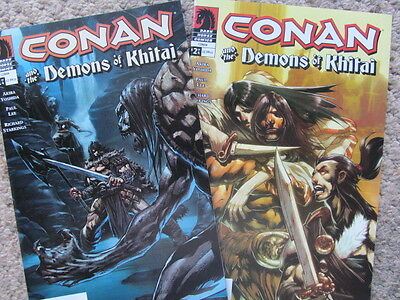 Conan and the Demons of Khitai #1 & 2 (of 2005 LS) Paul Lee art; VF-/NM-