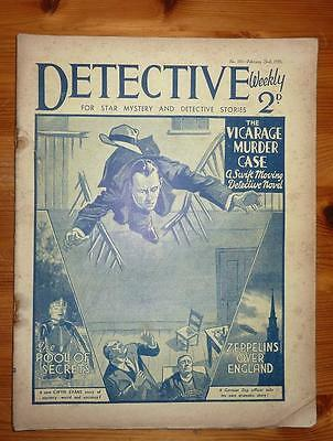 DETECTIVE WEEKLY No 105 23RD FEB 1935 THE VICARAGE MURDER CASE SEXTON BLAKE