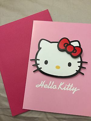 Hello Kitty Card - 2D - Write Your Own Message Inside