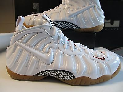 new product 3dd6b b0d4b DS Nike Air Foamposite Pro White Gym Red Gorge Green Gum Sole 624041 102  black