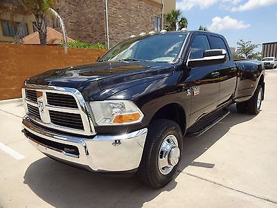 2012 Ram 3500 ST 2012 Ram 3500 SLT Crew Cab 4x4 6.7L Cummins Turbo Diesel Engine One Owner