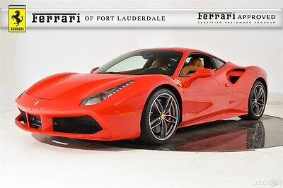 2016 Ferrari Other 488 GTB Certified CPO Carbon Fiber LED AFS Lifter Titanium Exhaust Shields Camera Display HiFi Forged