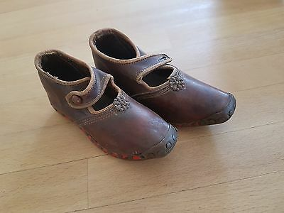Genuine victorian childrens leather shoes