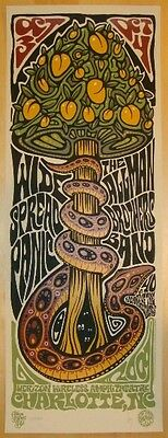 Widespread Panic Poster 2009 Charlotte,  NC Signed/#800 Rare!! Sold Out!!