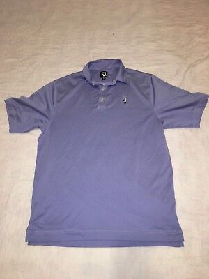 Men's FootJoy FJ Golf Polo Shirt Size XL Blue