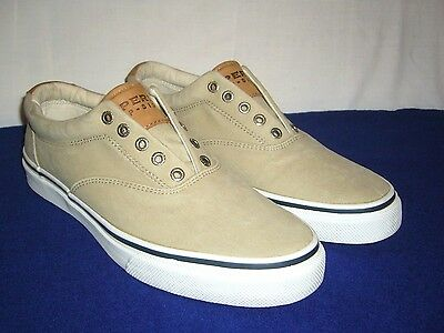 Sperry Top-Sider Men's Canvas Slip-On, Size 10