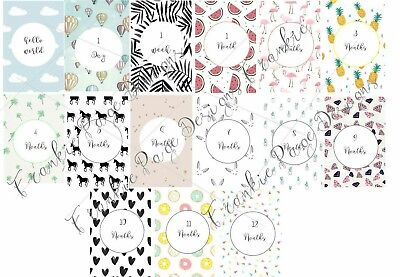 Baby Milestone Cards - Pack of 15 - Brand new and sealed - Baby Shower Gift