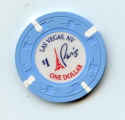1.00 Chip from the Paris Casino in Las Vegas Nevada