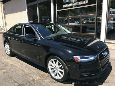 "2016 Audi A4 4dr Sedan Automatic quattro 2.0T Premium Plus  Line  18"" Wheels  Navigation  Back Up Camera  Moonroof  Push to Start"