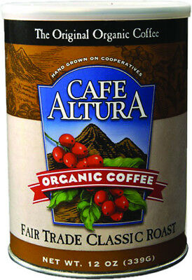 Fair Trade Classic Roast Ground Coffee, Cafe Altura, 12 oz