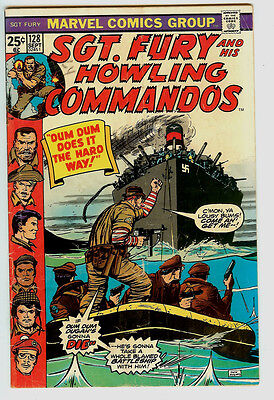 Sgt. Fury and His Howling Commandos #128 (Sep 1975, Marvel)