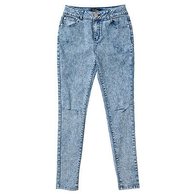 NEW Future You Acid Wash High Rise Fitted Jeans