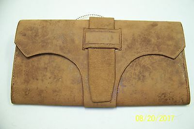 1830 A A Hotchkiss wallet- carried in Civil War- signed by owner