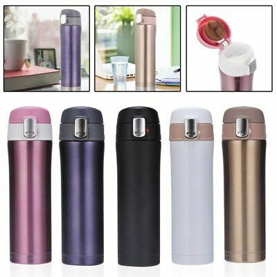 450ML Stainless Steel Travel Mug water Vacuum insulated Thermal Cup Bottle Last