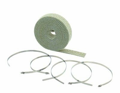 Accel - 2002Ta - High-Temperature Exhaust Wrap Kit, Tan - 2In. X 25Ft.