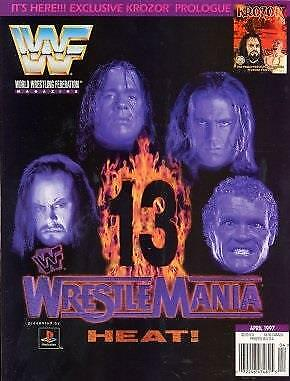 WWF Magazine April 1997