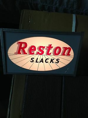 Antique Lighted Sign