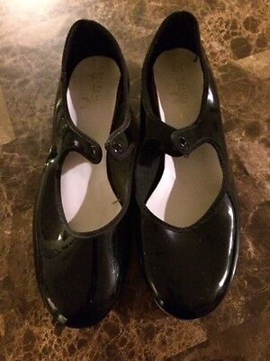 Tap Shoes Girls Spotlights Size  6 1/2 Good Used Shape
